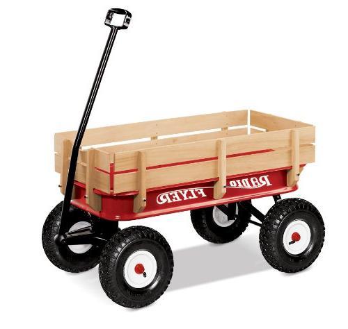 allterrain steel wood wagon