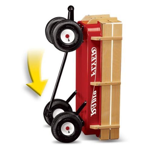 Radio Flyer &Wood Wagon