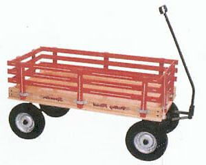 amish built new wood wagon 16 x36