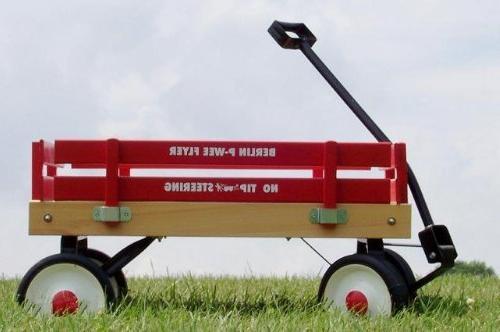 The Berlin Flyer's Little Red Wagon   Premier Wagons  Pee Wee Flyer Berlin