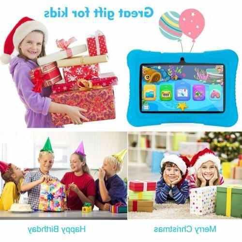 APOBOB HD 16GB Kids Tablet PC Quad-core Bundle Case
