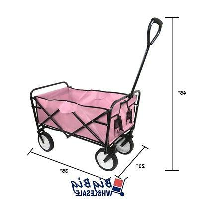 Beach Cart Kid Folding Collapsible Camping Garden