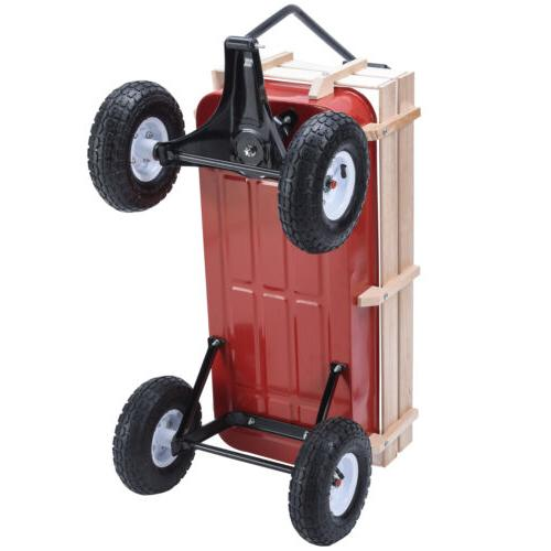 OUTDOOR KID CART RAILING RED 330LBS