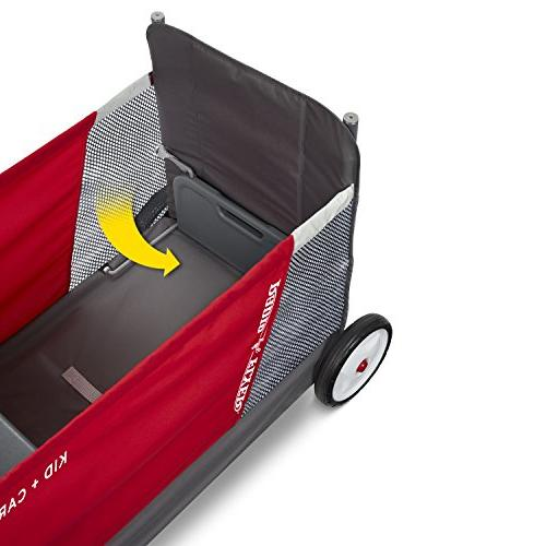 Radio Flyer & Wagon with Versatile Seats,