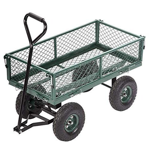 cart yard garden wagon utility