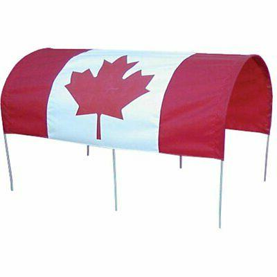 Millside Industries CDN-F 20 in. x 38 in. Canadian Flag Cano