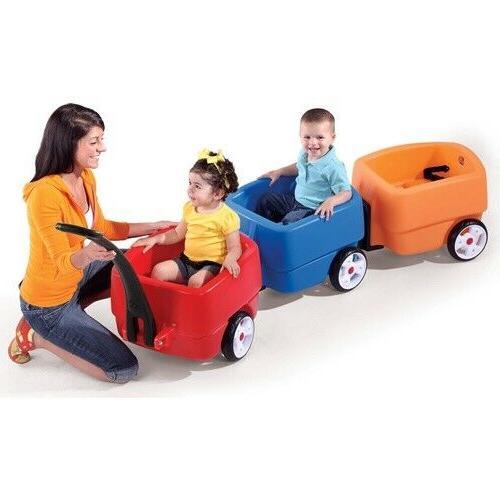 choo choo trailer wagon accessory toddlers play