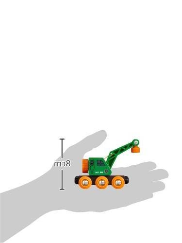 BRIO Crane Wagon Set
