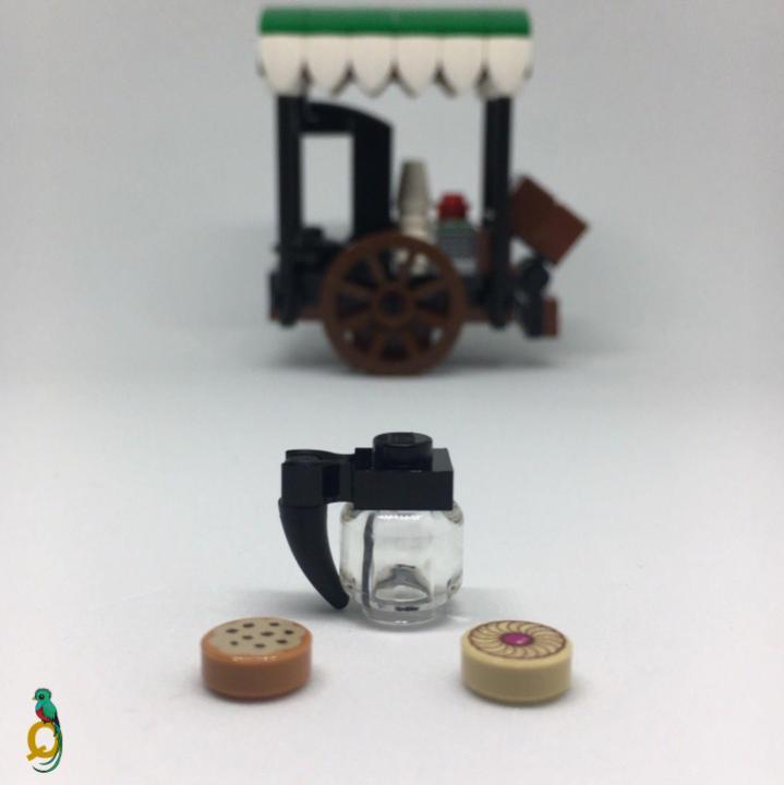 Lego Cart Stall & Wagon Market Shop MOC