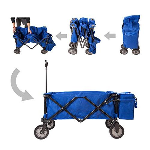 Timber Wagon Folding Camping Cart Bag for Outdoor up Duty