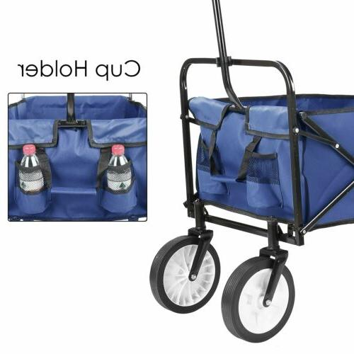 Collapsible Wagon Outdoor Garden Wagon Cart