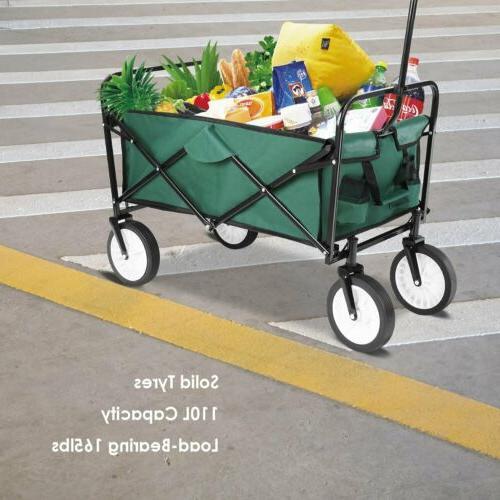 Collapsible Wagon Camp Garden Cart Sport