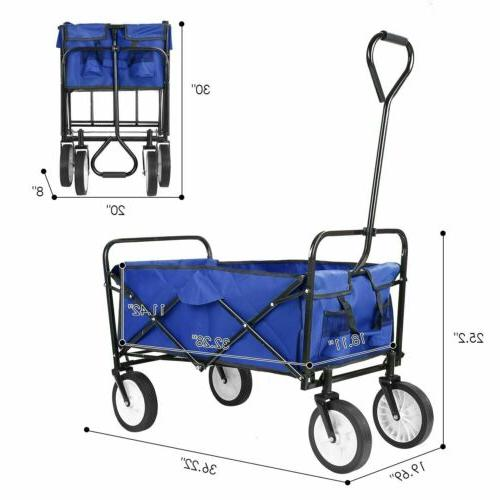Collapsible Wagon Garden Large Portable