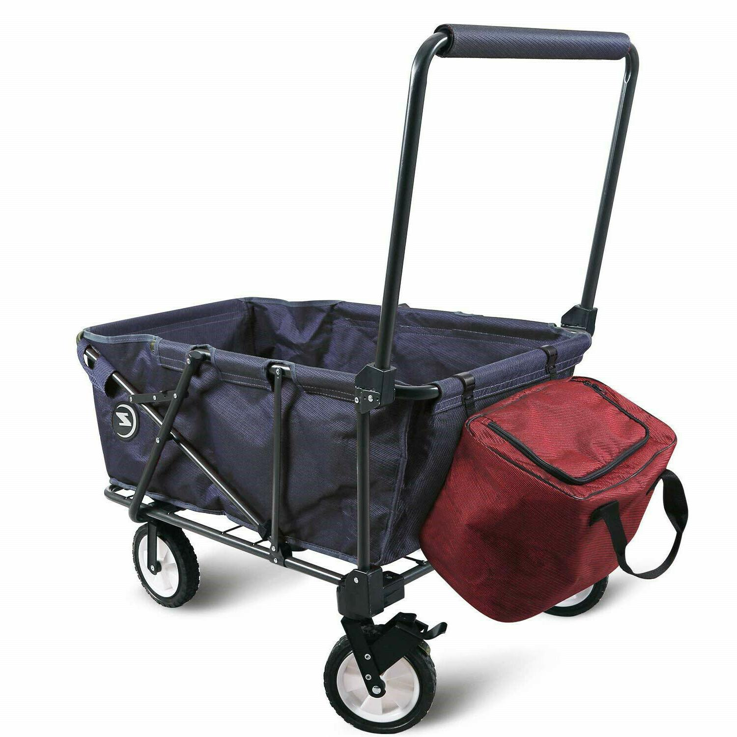 collapsible wagon cart folding utility wagon outdoor