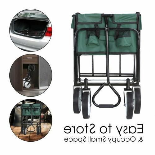 Folding Sports Travel Utility Cart