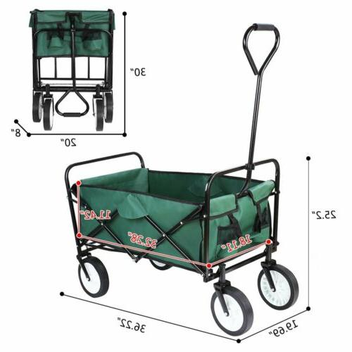 Portable Collapsible Wagon Folding Garden