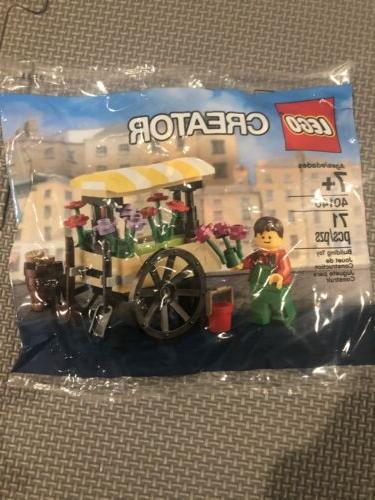 creator 40140 flower cart wagon poly bag