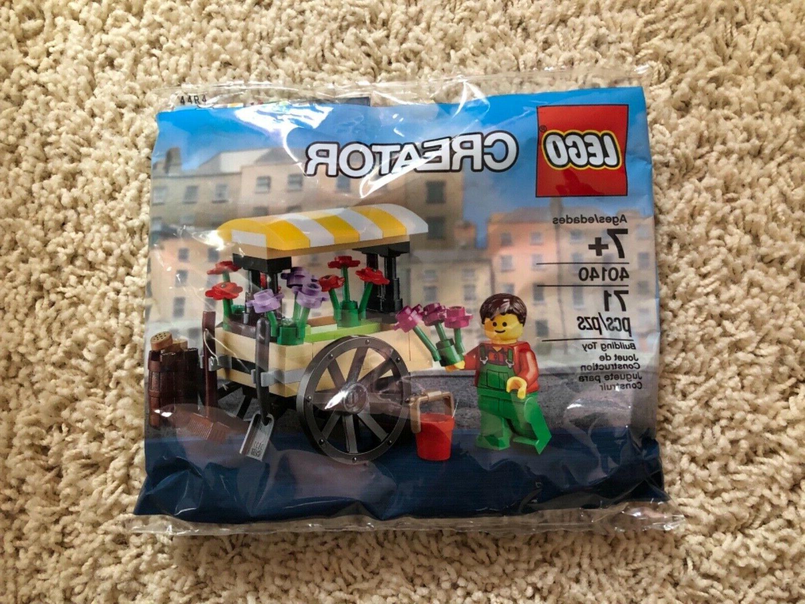 creator flower cart wagon 40140 polybag store