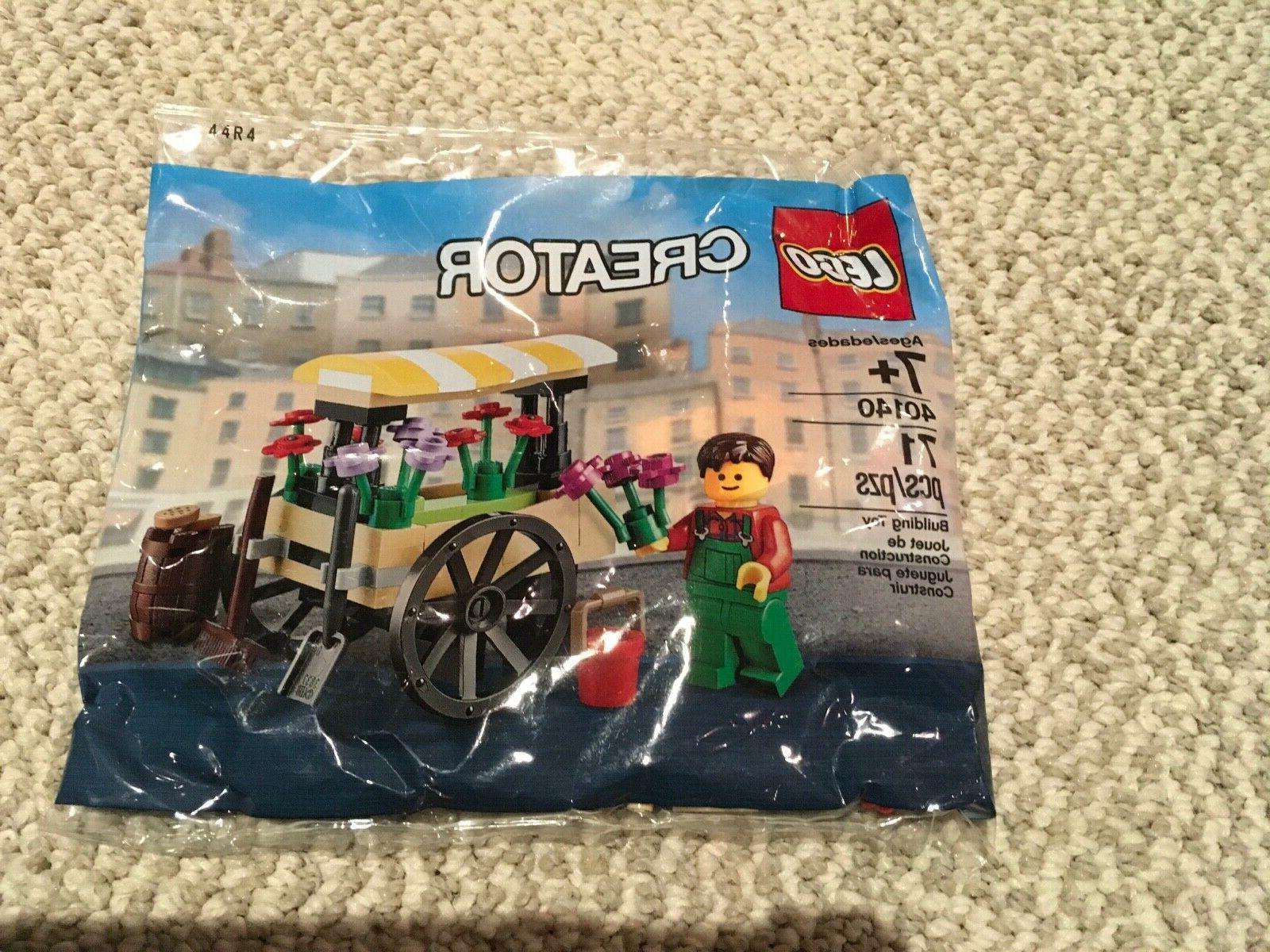 creator flower cart wagon 40140 polybag