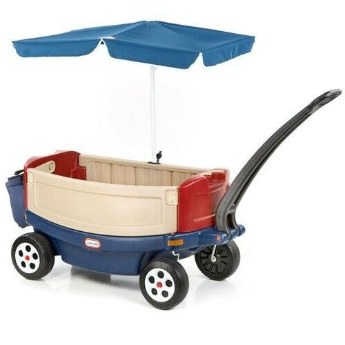 Little Tikes & Relax Wagon with Umbrella New