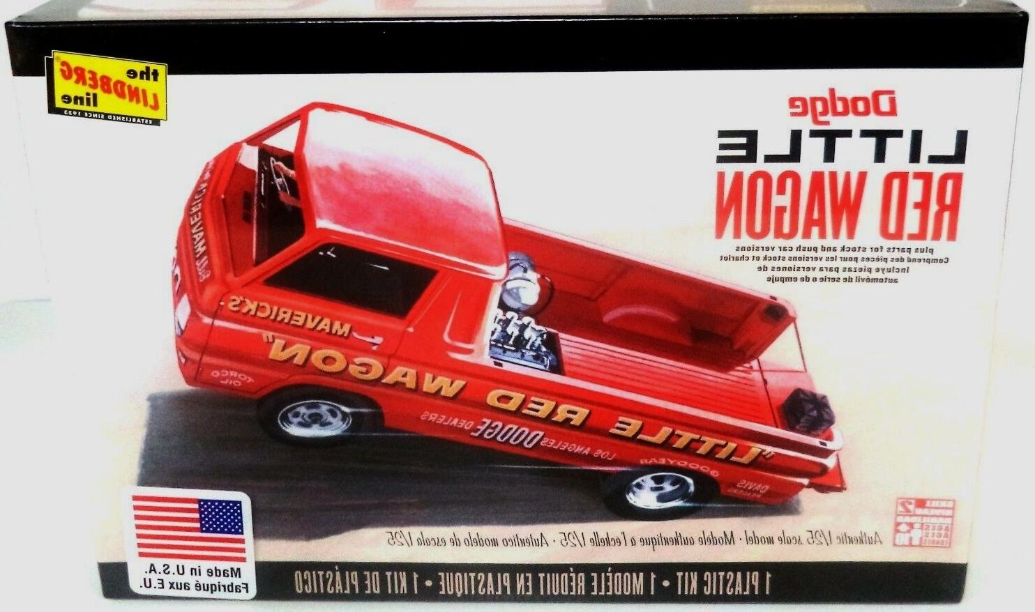Lindberg A-100 Wagon model kit