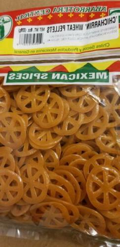 Duros Mexican Wagon Wheels Duritos Chicharrin de rueda Wheat