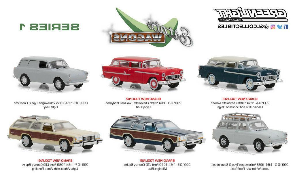 estate wagons series 1 set of 6