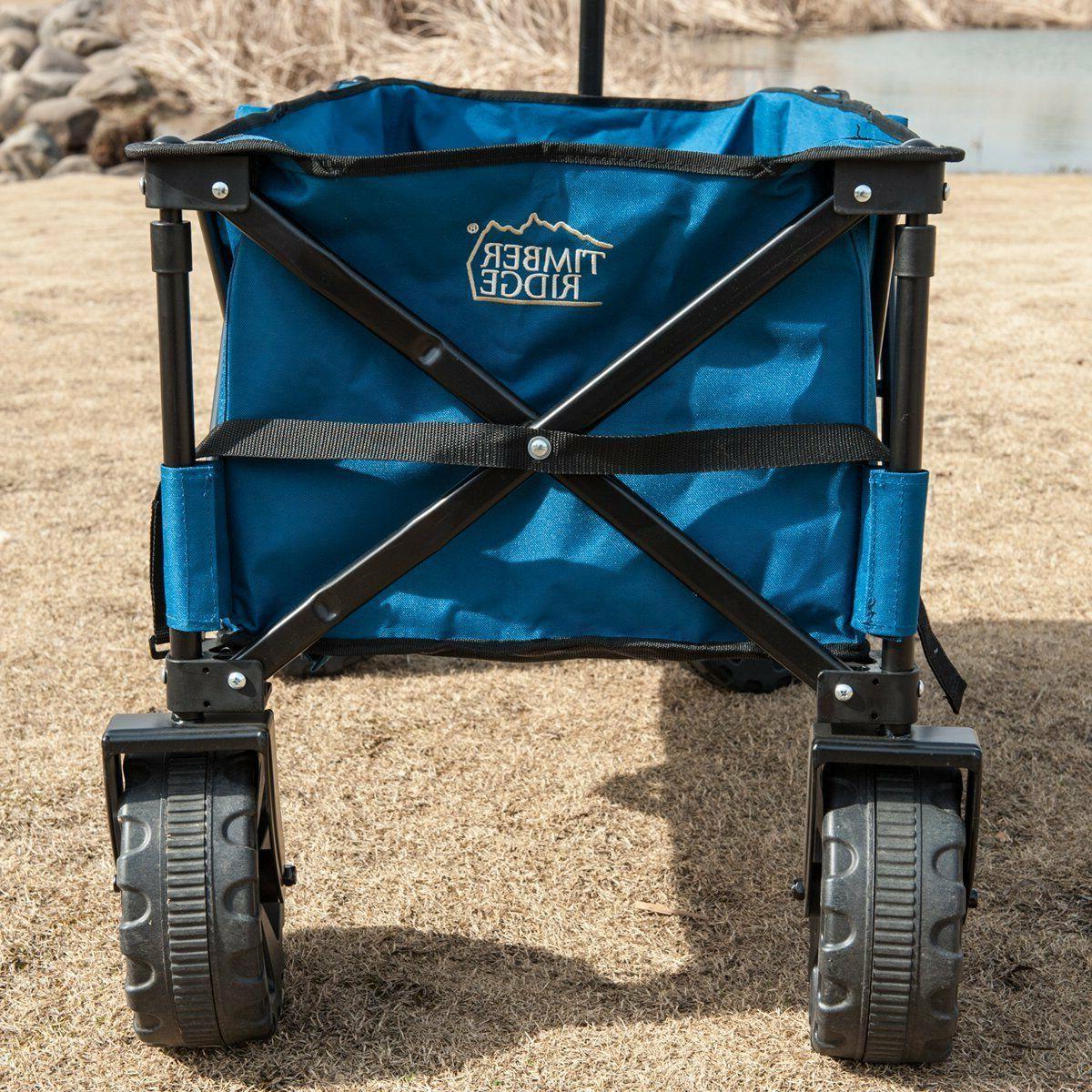 Folding Camping Sturdy Steel Shopping Wagon/Cart