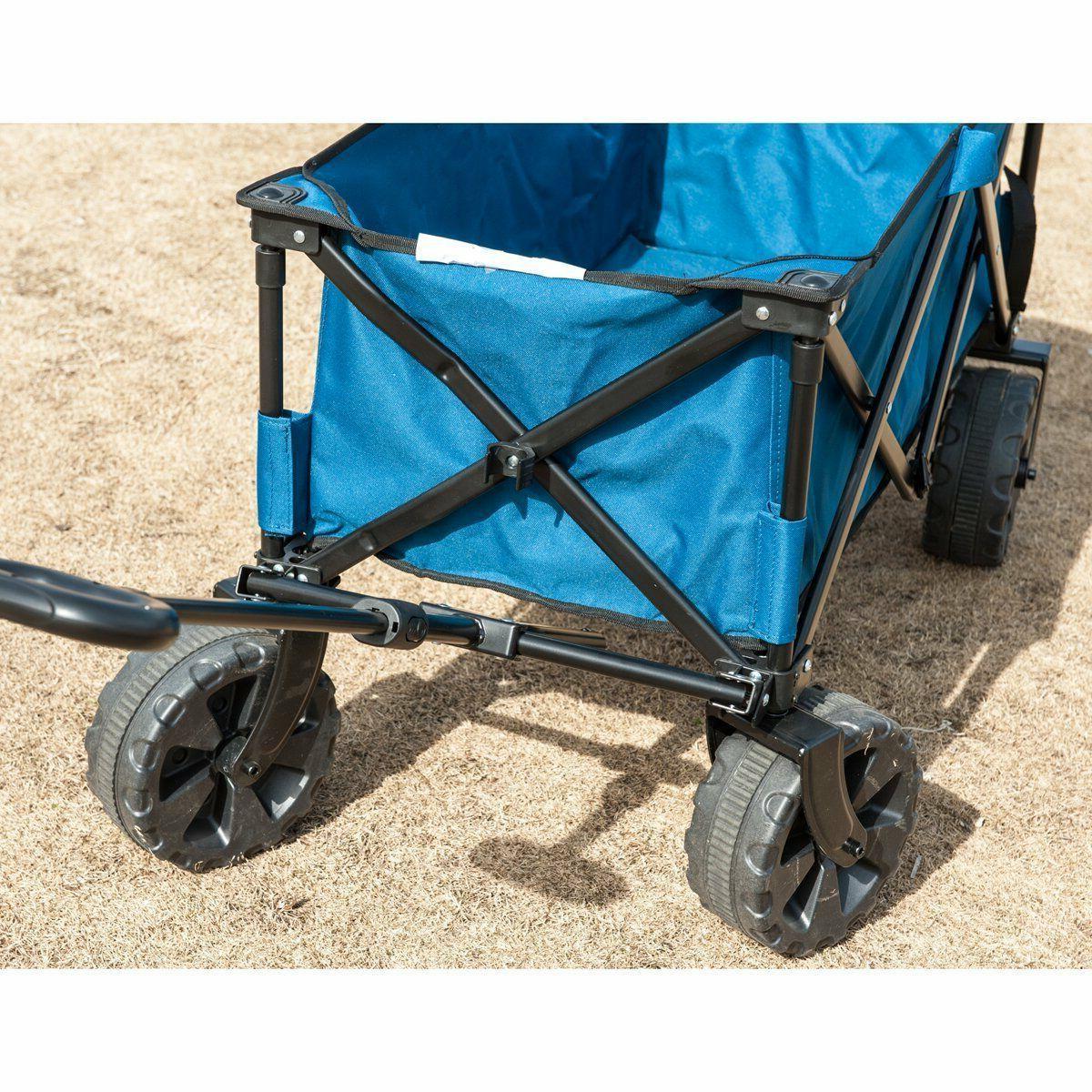 Folding Steel Frame Shopping Wagon/Cart