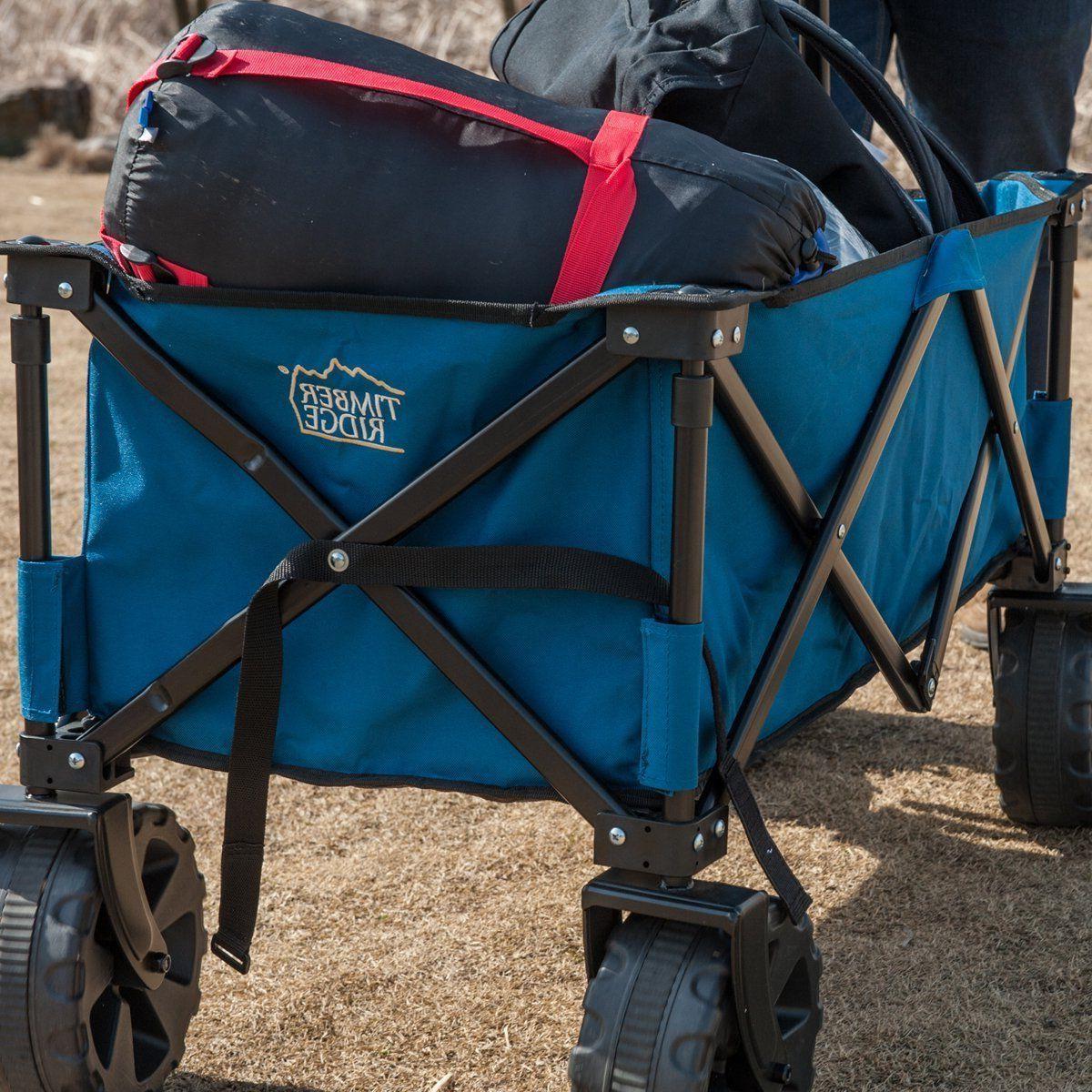Folding Steel Shopping Wagon/Cart