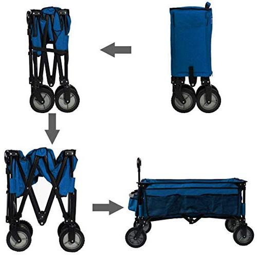 Timber Ridge Folding Collapsible Heavy Trolley,