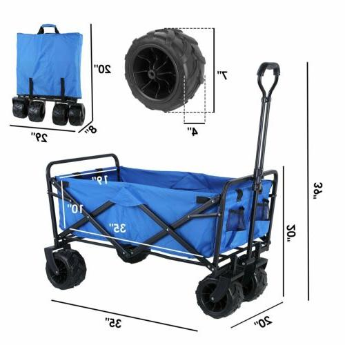 Folding Collapsible Garden Camping Cart- 170