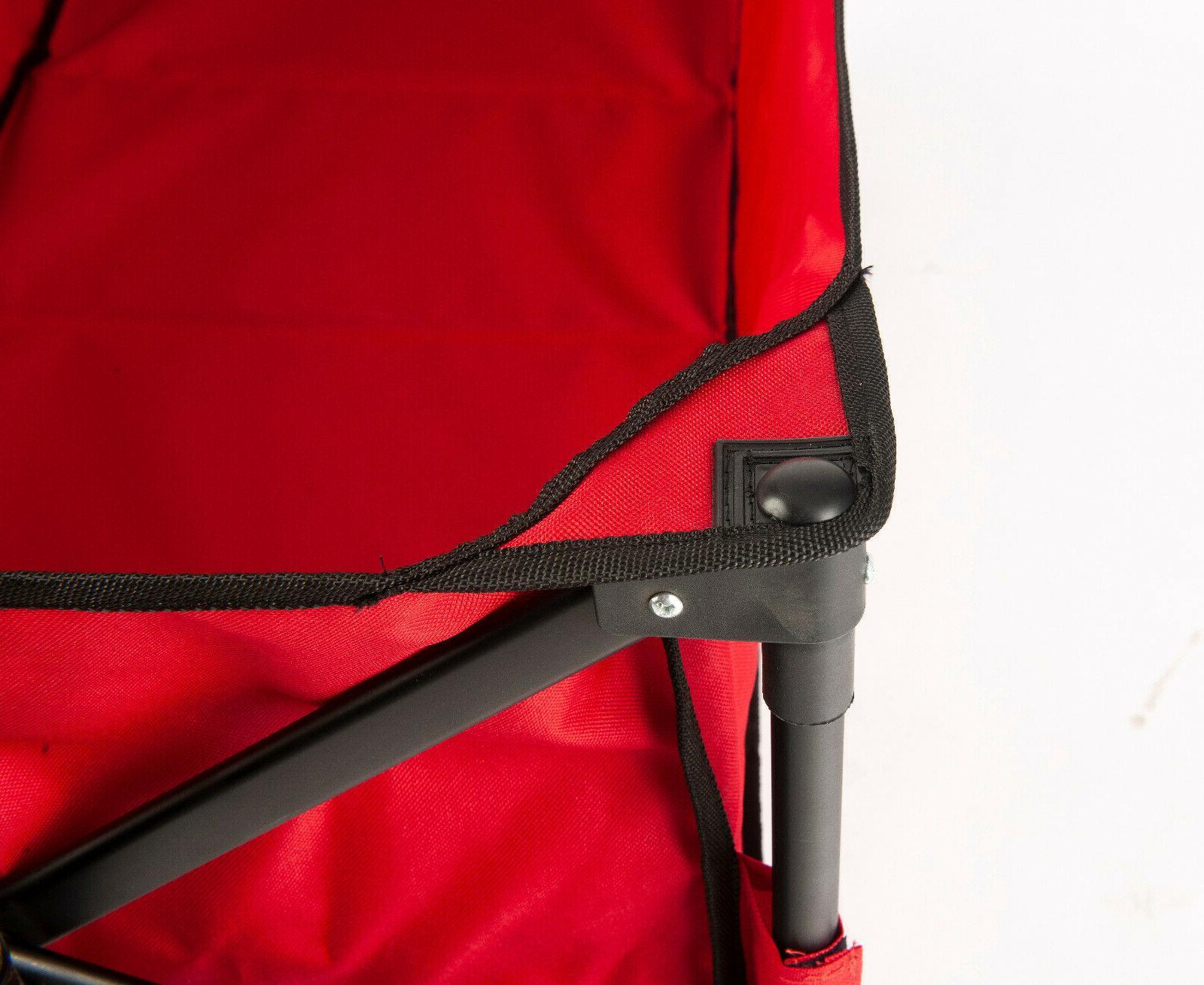 Folding Wagon Cart Cart Heavy