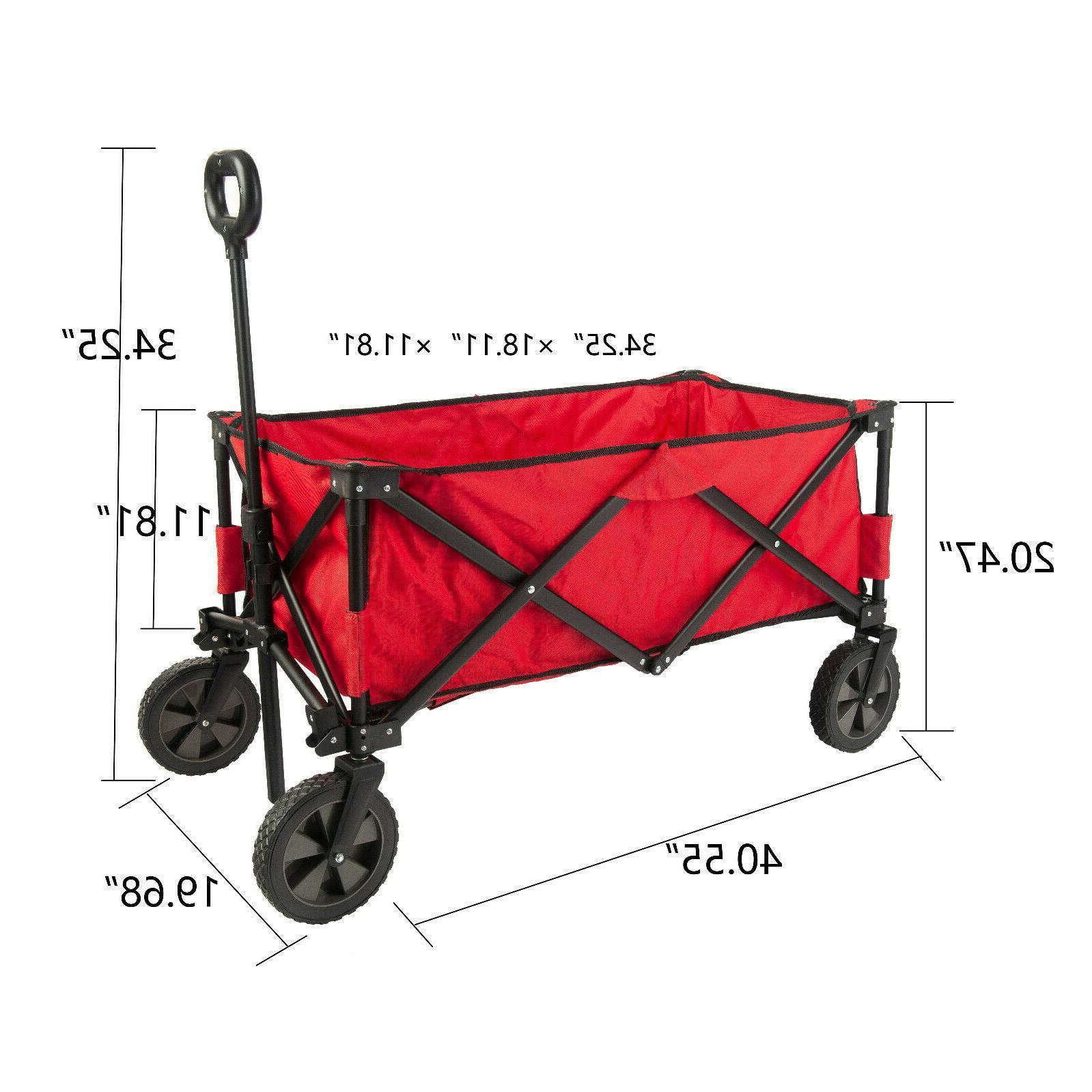 Folding Wagon Cart Duty