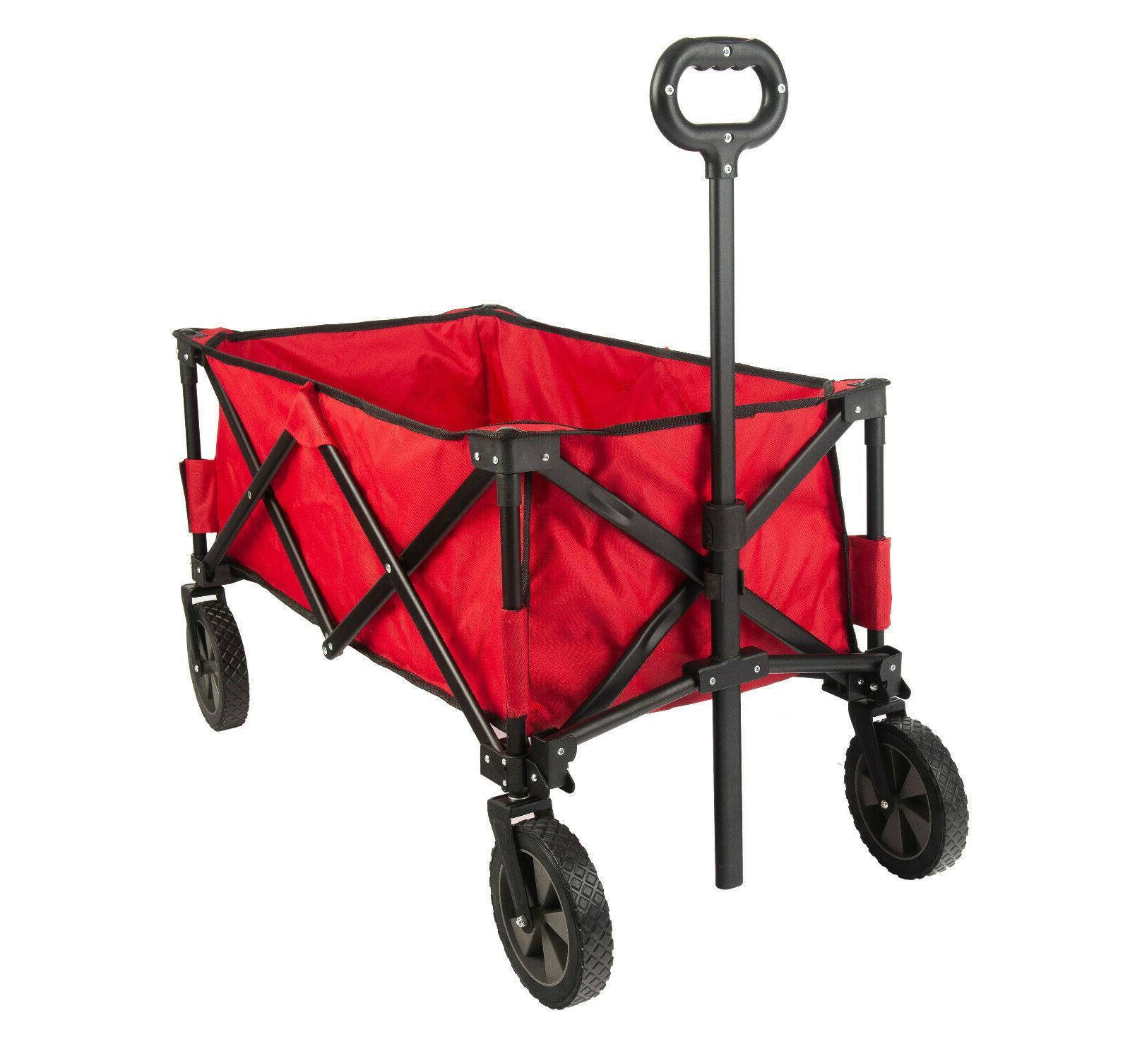 folding garden carts yard wagon cart lawn