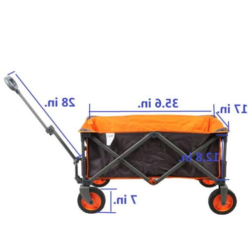 PORTAL Utility Collapsible Cart For Outdoor Camping