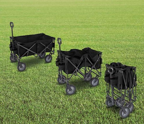 Folding Wagon Cart Garden Beach Utility