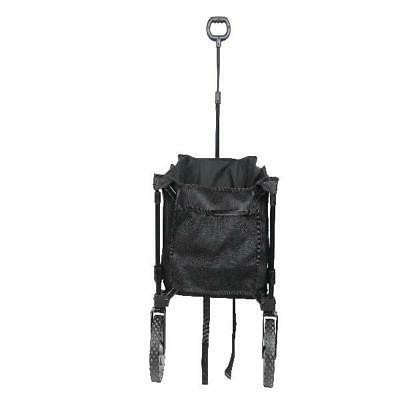 Garden Beach Utility Outdoor Buggy Black