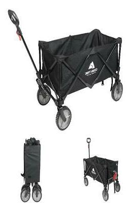 folding wagon cart collapsible garden beach utility