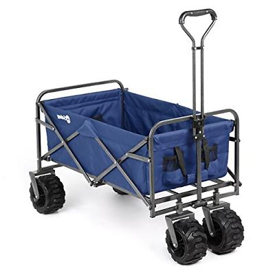 folding wagon cart collapsible outdoor utility wagon