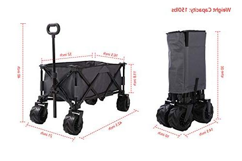 Patio Watcher Cart Heavy Duty Utility All Outdoor Wagon