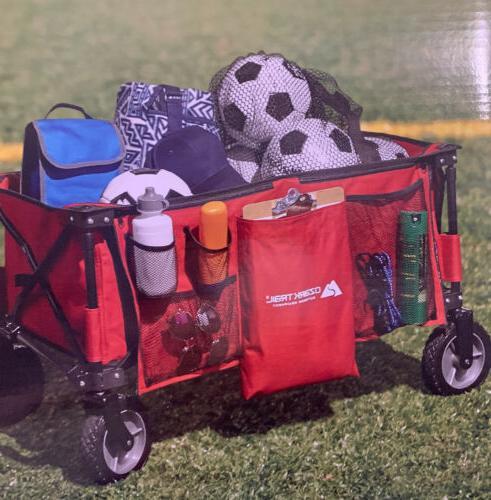 Ozark Trail Folding Wagon Collapsible Cart Handle