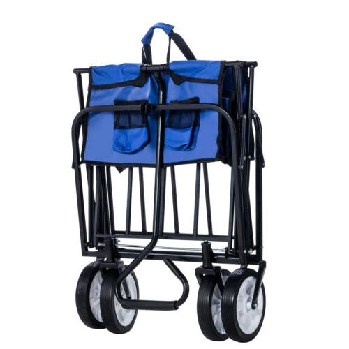 folding wagon garden beach utility cart toy