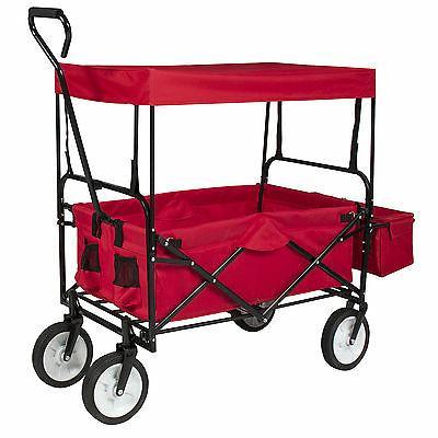 Folding Wagon Garden Utility Cart Outdoor