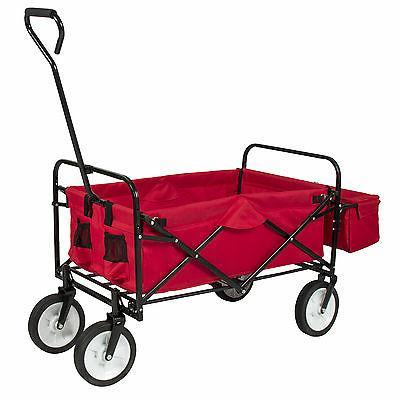Folding Wagon Garden Cart Outdoor Home