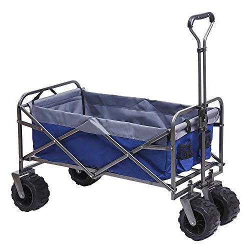 folding wagon terrain collapsible utility