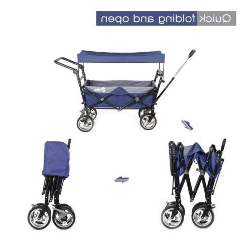 Collapsible Folding Beach Cart Sport Buggy
