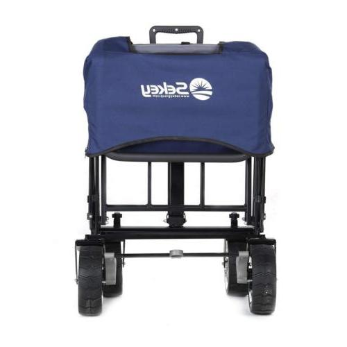 Folding with Canopy Heavy-duty Collapsible Outdoor Utility