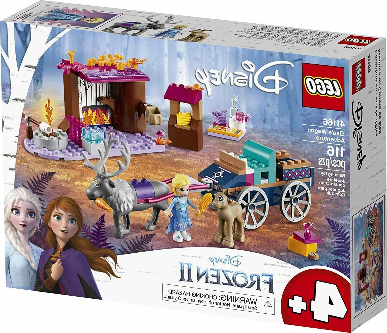 frozen 2 elsa s wagon adventure 41166