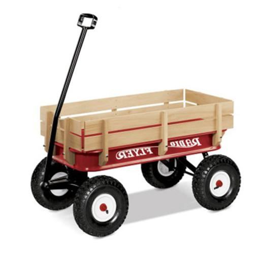 Radio Flyer Full and Pull Wagon,